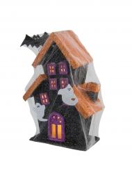 Casa stregata luminosa halloween 30 cm