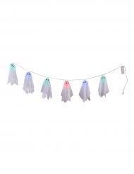 Ghirlanda fantasmi luminosi halloween 150 cm