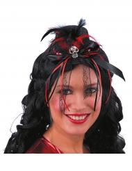 Mini cappello dia de los muertos donna