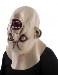 Maschera mostro testa al contrario halloween