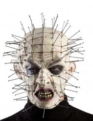 Maschera halloween mostro chiodi conficcati