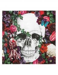 20 tovagliolini di carta festa Dia de los muertos