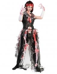 Costume sposa sanguinante per donna halloween