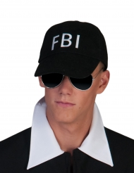 Cappello nero FBI per adulto