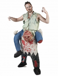 Costume carry me zombie adulto Halloween