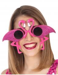 Occhiali fenicottero rosa per adulto