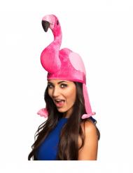 Cappello da fenicottero rosa per adulto