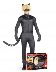 Cofanetto regalo Costume da Chat Noir Miraculous™ per adulto
