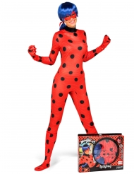 Cofanetto regalo Costume Lady Bug Miraculous™ per adulto