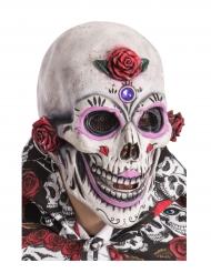 Maschera scheletro dia de los muertos adulto