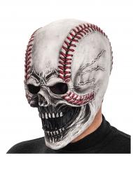 Maschera terrificante palla da baseball adulto