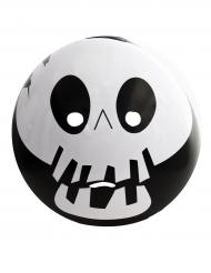Maschera emoticon scheletro adulto