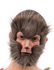 Maschera da uomo lupo adulto