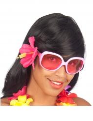 Occhiali Hawai donna decoro fiore