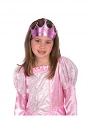 Corona da principessa rosa