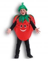 Costume da Fragola allegra per bambina