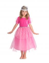 Costume principessa rosa da bambina