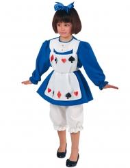 Costume da principessa delle carte bambina