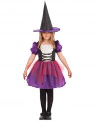 Costume Strega bambina colore viola
