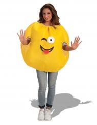 Costume da emoticons occhiolino per adulto
