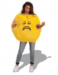 Costume emoticons triste adulto