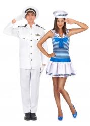 Costume coppia di marinai adulto