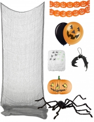 Set decorazione di halloween premium