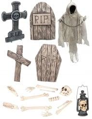 Kit lusso scheletro halloween