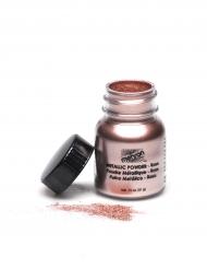 Brillantini in polvere colore rosa metallizzato marqua Meheron per professionisti 14 g