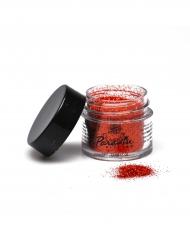 Image of Polvere brillantini per professionisti colore arancione fluo-mehron 7 g