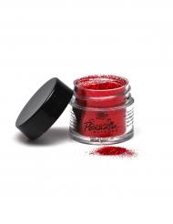 Polvere di paillettes per trucco professionale rosso  Mehron 7 g