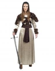 Costume da guerriera medievale per donna