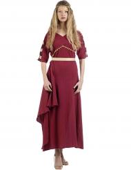 Costume da romana in rosso per donna