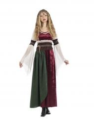Costume da principessa medievale donna