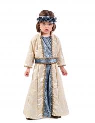 Costume da principessa medievale per bambina