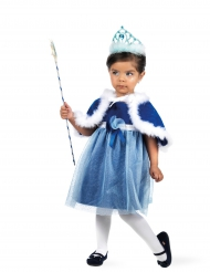 Costume da fatina blu per bambina