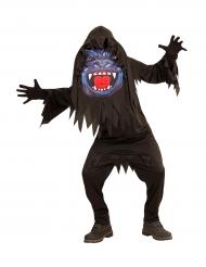 Costume da gorilla con testa gigante per adolescente