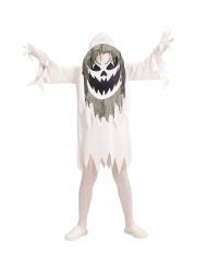 Costume da fantasma con testa gigante per adolescente