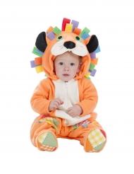 Costume Leone arancione per neonato