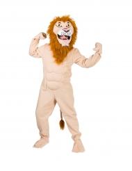 Costume da leone muscoloso per adulto