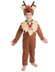 Costume renna di natale per bambino