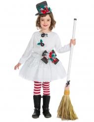 Costume bambola di natale per bambina
