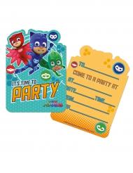 6 Inviti di Compleanno Super Pigiamini™
