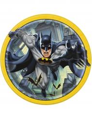 8 piatti Batman di cartone  23 cm