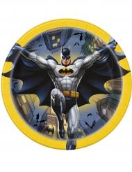 8 piattini in cartone licenza ufficiale Batman