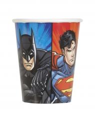 8 Bicchieri in cartone Justice League™