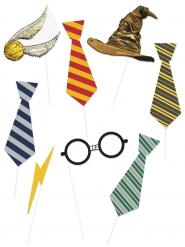 Kit Photobooth 8 pezzi Harry Potter™
