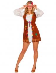 Cosutme da miss Hippie bianca per donna