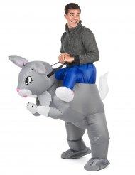 Costume da Coniglio gonfiabile per adulto