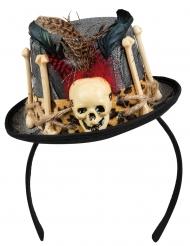 Mini cappello teschio Dia de los muertos